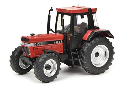Schuco 450781100 450781100-Case IHC 1455 XL, Traktor, Modellauto, 1:32, rot Modellfahrzeug