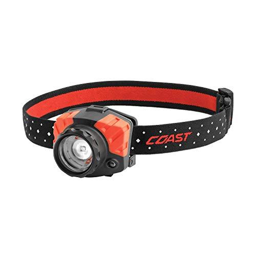 COAST FL85 615 Lumen Dual Color Pure Beam Focusing LED Headlamp