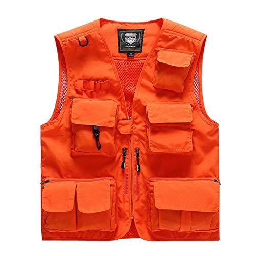 HART Wild V Chaleco de Caza para Hombre Color Naranja
