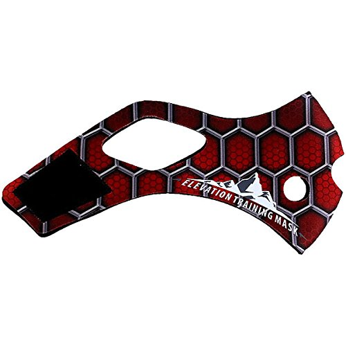 Training Mask Elevation 2.0 Spider Sleeve Red Small