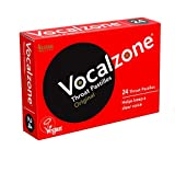 Vocalzone Throat Pastilles - Original 24 For Sore Throats and Hoarseness When Overusing Your Voice. Produced and sold in the United Kingdom since 1912.