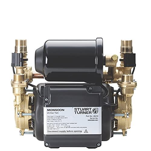 Stuart Turner 46410 Shower Pump, Black