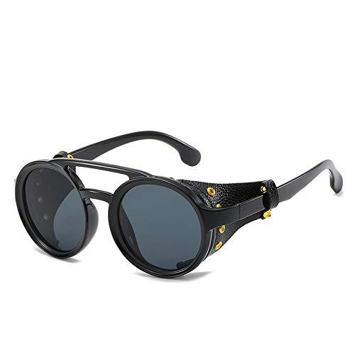 Sunglasses Steampunk Runde Sonnenbrille Brand Design Frauen Männer Vintage Steam Punk Sonnenbrille Uv400 Sonnenbrille Shades 01
