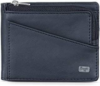 Baggit Men's Synthetic Wallet (Black)