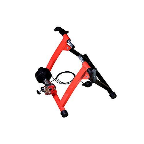 Rodillo para Bicicleta Cubierta De Acero Bicicleta Estática Trainer Estacionario Soporte De...