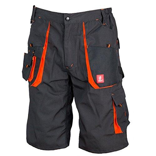 Kurze Arbeitshose Sicherheitshose Schutzhose Arbeitsbekleidung Sommer (KR-URG-A) (50)