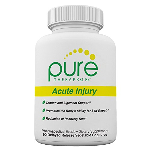 Acute Injury -'Delayed Release' Caps | Tendon & Ligament Support | Convenient Once a Day Clinical Dose | Boosts Tendon Health, Movement & Physical Function | Pharm (90 Capsules)