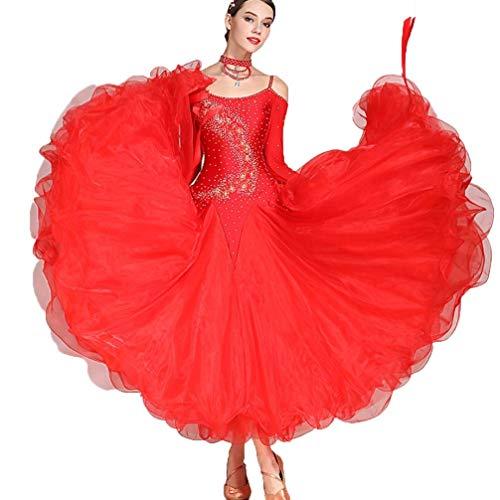 C&X Vestido De Baile De Salón...