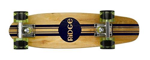 Ridge Retro Skateboard Mini Cruiser, klar grün, 22 Zoll, WPB-22