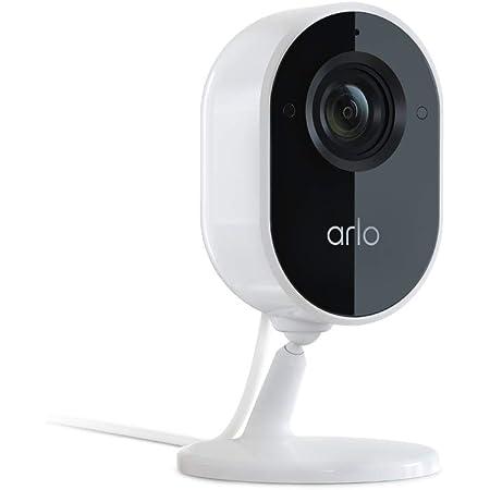 Arlo Essential Überwachungskamera Für Den Innenbereich 1080p 2 Wege Audio Paketerkennung Bewegungserkennung Warnmeldungen Integrierte Sirene Nachtsicht Kabelgebunden Vmc2040 Weiß Baumarkt