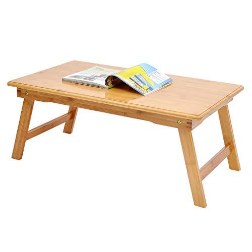 ZHAOSHUNLI Table Pliante Lit Lazy Table Table d'étude pour Mini-Ordinateur Portable pour étudiant (Size : 60 * 40 * 25cm)