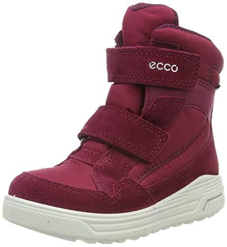 ECCO Mädchen URBAN Snowboarder Hohe Sneaker, Violett (Red Plum/Aubergine 57636), 34 EU