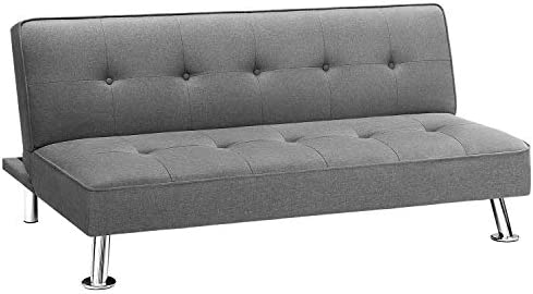 Homall Futon Sofa Bed Modern Collection Convertible Fabric Folding Recliner Lounge Couch for product image