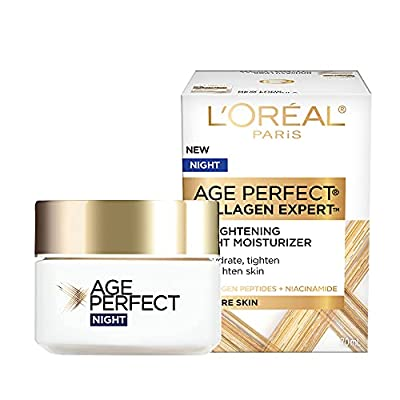 L'Oreal Paris Skin Care Age Perfect Night Cream, Anti-Aging Face Moisturizer With Soy Seed Proteins, 2.5 Oz from L'Oreal Paris