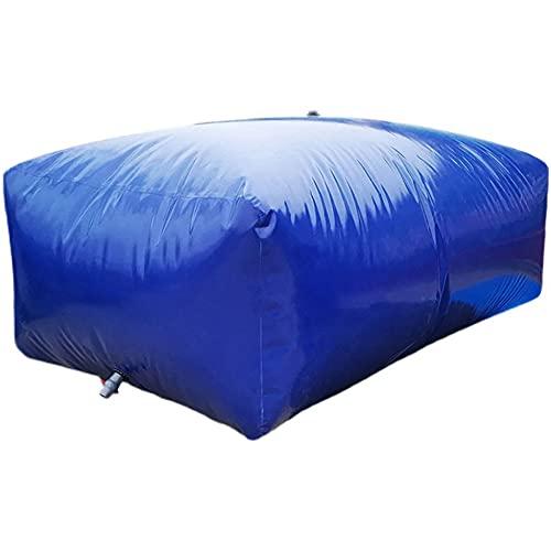 SHIJINHAO Recipiente De Almacenamiento De Agua De Gran Capacidad, Bolsa De Contenedor De Agua De Gran Capacidad Plegable De Portador De Agua De PVC Suave (Color : Blue, Size : 240L/1x0.6x0.4M)