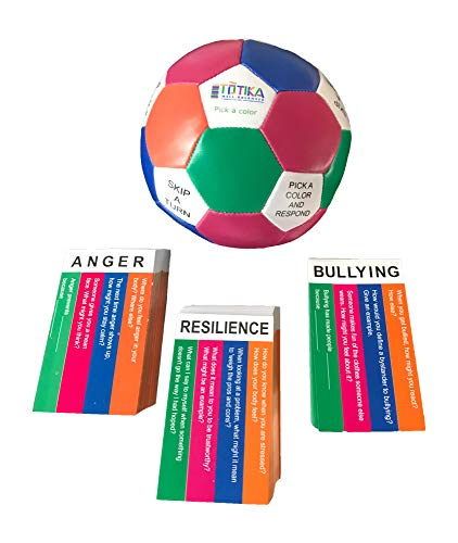 Totika Anger, Resilience and Bullying Cards and Thumball