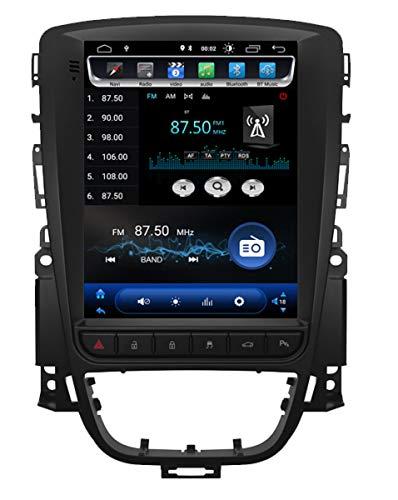 KasAndroid AUTORADIO Tip TESLA ANDROID 9.0,für OPEL ASTRA J/VAUXHALL HOLDEN GPS NAVI 4G QUAD CORE 2GB RAM 16GB ROM Vertical Bildschirm 10
