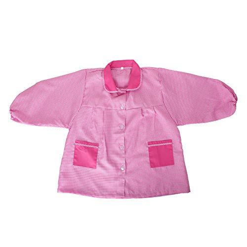 MISEMIYA - Baby 609 Bata Infantil Uniforme GUARDERIA - Rosa, 5 Años