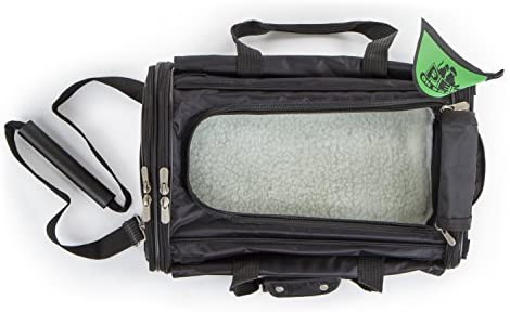 Sherpa on Wheels Pet Carrier Black 1 Carrier product image