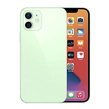 Without Logo  Fake Dummy Phone Display Model Compatible with Phone 12 Replica Non-Working 6.1 inch Color Screen Phone 12 1 1 Scale  Green