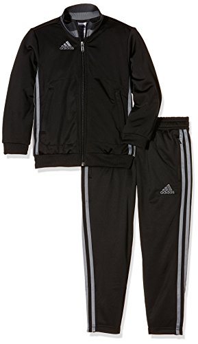 adidas Jungen Präsentationsanzug Condivo 16 PES Trainingsanzug, Black/Vista Grey, 164