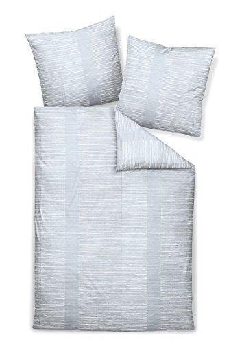 Janine Design Edelflanell Bettwäsche Chinchilla S 76010-08 1 Bettbezug 135 x 200 cm + 1 Kissenbezug 80 x 80 cm