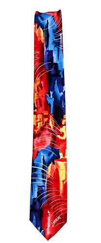 JG-8161 - Jerry Garcia Mens Fashion Designer Brand Necktie Ties