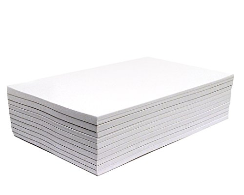 Memo Pads - Note Pads - Scratch Pads - Writing Pads - 10 Pads with 50 Sheets in Each Pad (5.5 x 8.5 inches)