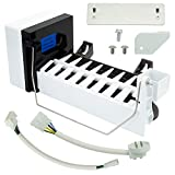Ecumfy 4317943 Ice Maker Assembly Compatible with Whirlpool Kenmore Refrigerators Replaces 4211173, W10122496