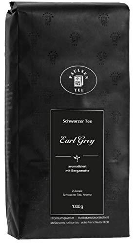 Paulsen Tee Earl Grey schwarzer Tee, Premiumqualität 1000g (24,95 Euro/kg), rückstandskontrolliert