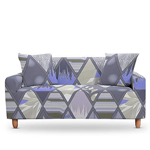 ASCV Cojines de mármol geométricos Fundas universales para Muebles de sillón Estuche elástico en la Funda de sofá de Esquina A2 1 Plaza