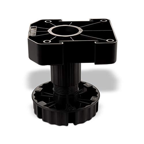 SO-TECH® Set Möbelfuß Sockelfuß Stellfuß 100 mm verstellbar
