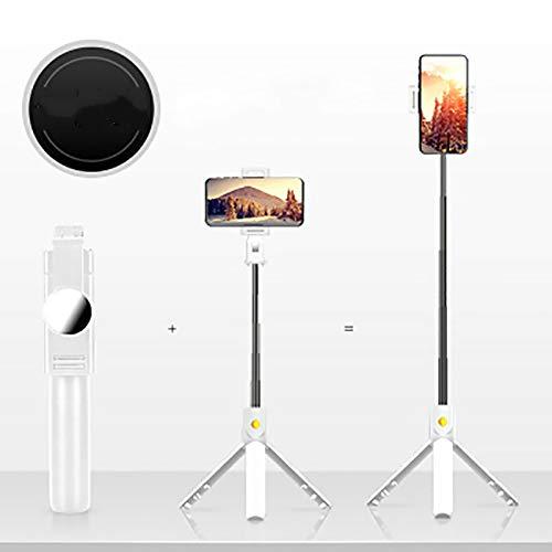 Generies Leapfh Selfie Stick Stativ Handy Halter Bluetooth Selfie Stick Stativ für Reisen Kompatibel mit iPhone/Samsung/Huawei usw.