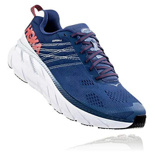 Hoka Men's Clifton 6 Wide Running Shoes HOK112M