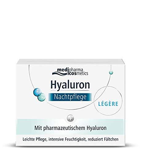 Medipharma Cosmetics Hyaluron Nachtpflege Leicht