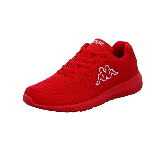 Kappa Follow OC, Zapatillas Unisex adulto,Rojo (Red/White 2010) 43 EU
