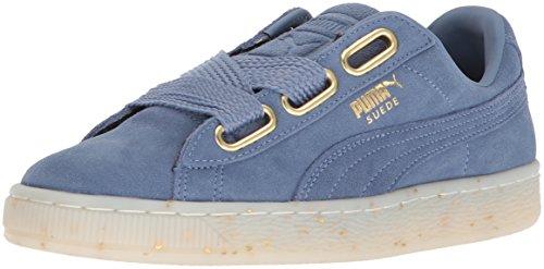 PUMA Women's Suede Heart Celebrate WN's Sneaker, Infinity, 8 M US