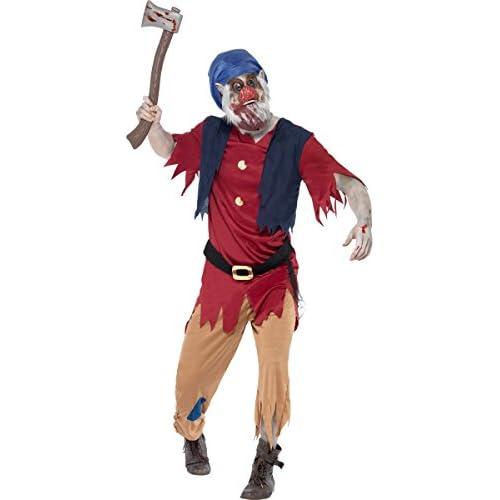 SMIFFYS - Zombie Nano - Halloween Costume - Adult Costume - Grande - 52-54