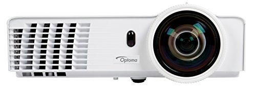 Optoma DAWSZUST Kurzdistanz DLP Projektor (WXGA, 3400 Lumen, 20.000:1 Kontrast, 3D)