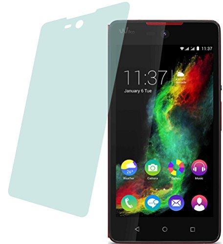 4ProTec I Wiko Rainbow Lite (2 Stück) Premium Bildschirmschutzfolie Displayschutzfolie kristallklar Schutzhülle Bildschirmschutz Bildschirmfolie Folie