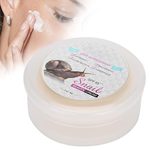 Crema hidratante blanqueadora, 30 ml de colágeno, crema blanqueadora para aclarar la piel, crema hidratante nutritiva para la cara
