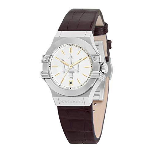 Reloj para Mujer, Colección Potenza, en Acero, Cuero - R8851108506