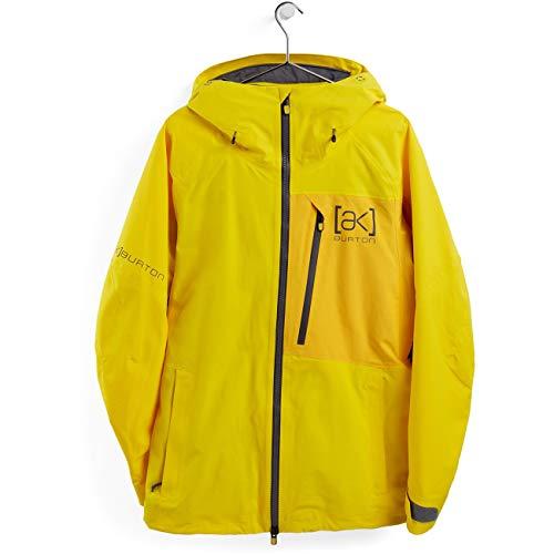 Burton M AK Gore-Tex Cyclic Jacket Gelb, Herren Gore-Tex Windbreaker, Größe M - Farbe Cyber Yellow - Spectra Yellow