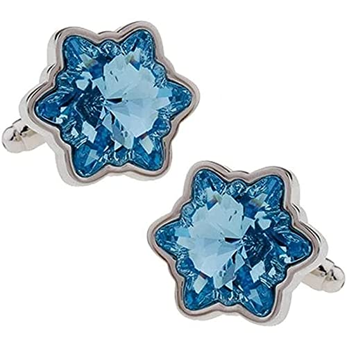 Gemelos Universal Vehold Blue Hexagon BAI Stars Crystal Simple Golfold Pugares Puños Puños Puños