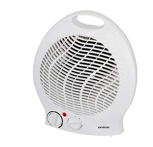 IN Calefactor INFINITON HBS-200C 2000W (Control de Temperatura, Funcion Ventilador, Proteccion sobrecalentamiento, Anti-vuelco)