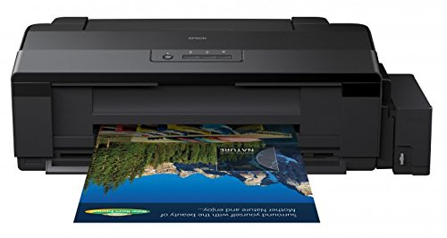 Epson L1300 Color 5760 x 1440DPI A4 Impresora de inyección de Tinta - Impresora de Tinta (5760 x 1440 dpi, Negro, Cian, Magenta, Amarillo, Bandeja de Papel, 33 ppm, 15 ppm, 100 Hojas)