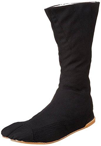 Marugo Tabi Boots Ninja-Schuhe Jikatabi (Outdoor Tabi) MANNEN Nuitsuke (genähte Gummi-Außensohle) 12 Hock