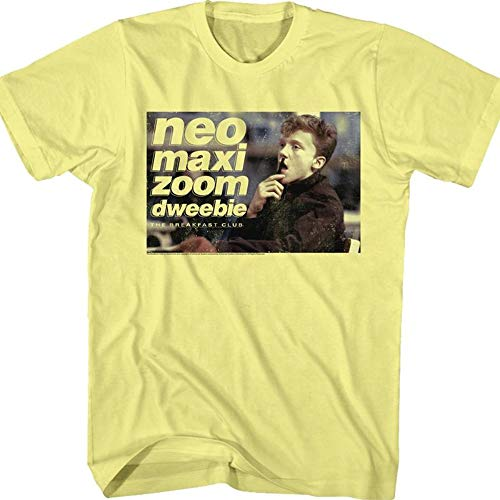 Neo Maxi Zoom Dweebie Breakfast Club T-Shirt, Made in USA, Many Sizes