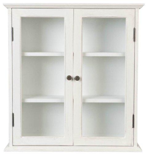 5H0041W Clayre & Eef - Armadio - Cassettiera - Bianco ca. 48 x 14 x 51,5 cm