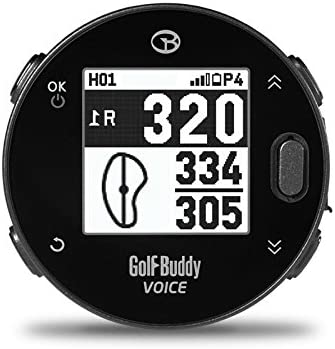Golf Buddy GB7-VOICEX Easy-to-Use Smart Talking Golf GPS